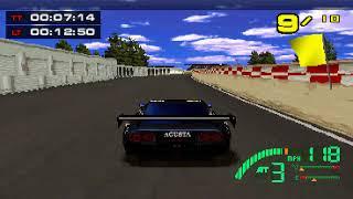 PSX Longplay [590] Test Drive Le mans (Part 2 of 3)