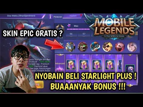DAPET SKIN EPIC GRATIS ! NYOBAIN BELI STARLIGHT PLUS SKIN HANABI ! - MOBILE LEGENDS INDONESIA