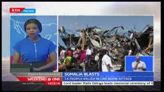 KTN Weekend at One: No Islamist group has taken credit of a car bomb attack in Mogadishu