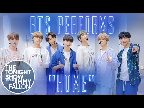 BTS: HOME | The Tonight Show Starring Jimmy Fallon