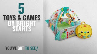 Top 10 Bright Starts Toys & Games [2018]: Bright Starts 5-in-1 Play Activity Gym, Your Way Ball