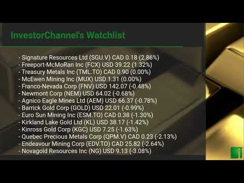 InvestorChannel's Gold Watchlist Update for Tuesday, May,  ... Thumbnail