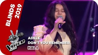 Adele - Don't You Remember (Hala) | Blind Auditions | The Voice Kids 2019 | SAT.1