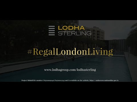 3D Tour of Lodha Sterling