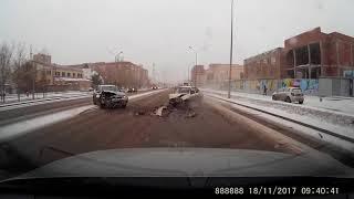 ДТП Астана 18.11.17