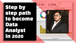 Step By Step Path To Become A Data Analyst in 2020
