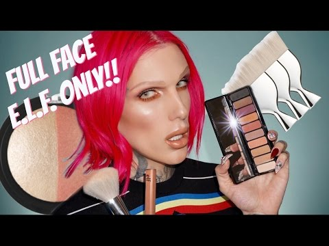 FULL FACE USING ONLY E.L.F. PRODUCTS!! | Jeffree Star