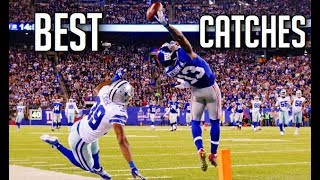 Outstanding Catches in Football || HD