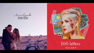 Into Your 100 Letters - Ariana Grande & Halsey (Mashup)
