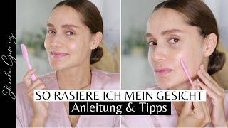 So rasiere ich mein Gesicht | Meine Gesichtsrasur-Routine | Anleitung, Tipps & Tricks | Sheila Gomez