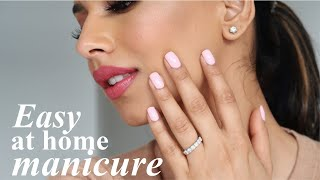 My AT HOME MANICURE Routine! | Nailpolish That Lasts!