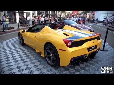 Ferrari 458 Speciale A - Huge Optional Spec and Startup