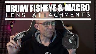 URUAV Fisheye & Macro X15 - GoPro Hero9 Lens Attachments