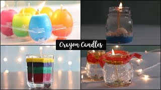 4 Easy Candle Making For Beginners | DIY Candles