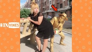 Funny videos 2018 ✦ Funny pranks try not to laugh challenge P41