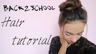 Back2school: COAFURI SIMPLE PENTRU SCOALA || Alice Tudurii