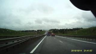 Авария на трассе Дон (это просто пиздец!)