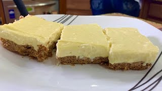 Low Carb Lemon Cheesecake Squares