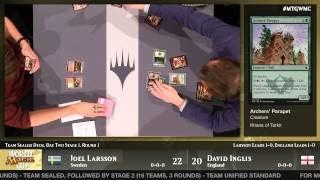 World Magic Cup 2014 Round 8 (Team Sealed): Sweden vs. England