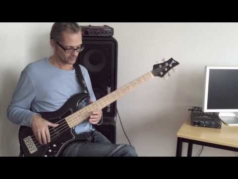 How to use vibrato on bass, funky beginner/intermediate bass lesson