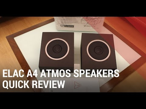 ELAC A4 Review - Dolby Atmos Home Theater Speakers India