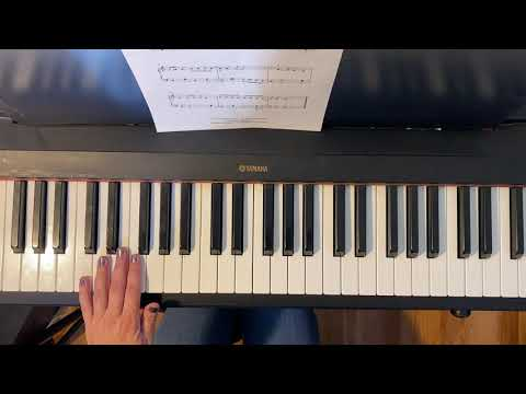 "How to play my arrangement of ""Deck The Hall"""