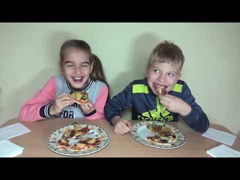 Пицца челлендж! GUESS THE PIZZA CHALLENGE | Pizza Eating Challenge | Eating Competition!  ピザチャレンジャー