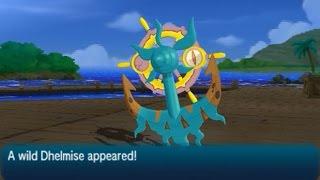 Dhelmise  - (Pokémon) - Dhelmise Location - Pokémon (Ultra) Sun & Moon