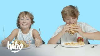 Kids Try Weird Midwestern Foods | Kids Try | HiHo Kids