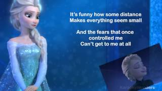 "Karaoke   ""Let It Go""   Frozen"
