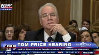 HEATED: Bernie Sanders TAKES ON Tom Price at Hearing - Is Healthcare a Right for ALL Americans?