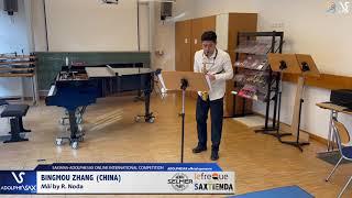 Bingmou ZHANG plays Mäi by R. Noda #adolphesax