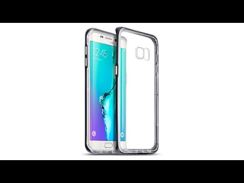 Samsung Galaxy S6 Edge Plus Schutzhülle TPU Hülle + PC Bumper - Schwarz