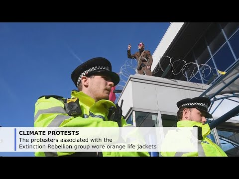 Dozens arrested in New York, London climate protests