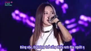 [Vietsub] 150904 Every Night - EXID @ Grand K-Pop Festival