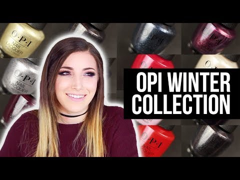 OPI Winter Nail Polish Collection (Love XOXO) Swatch and Review    KELLI MARISSA