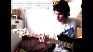[ HQ] [Bass Cover + Solo + Tabs] The Kooks    Sofa Song