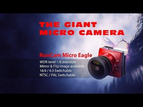Review / demo of the Runcam Micro Eagle FPV cam :)