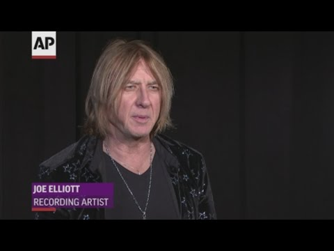 He's confident when he gets crowds 'ready to rock' but Joe Elliot of Def Leppard says 'the nerves will be there on the night' when the band get inducted into the Rock and Roll Hall of Fame. (March 28)