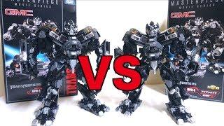 【 Comparison】takaratomy Transformers Mpm-6 Masterpiece Movie Ironhide Wotafa's Review