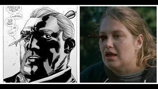Abraham and Denise Death Comparison - Walking Dead TV Show VS Comic
