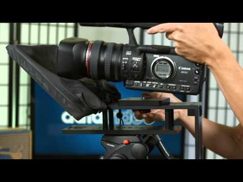 How to set up the TP-300 Teleprompter