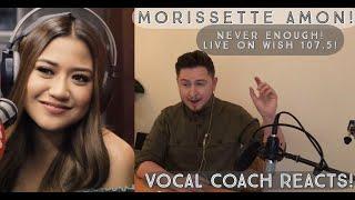 "Vocal Coach Reacts! Morissette Amon Performs ""Never Enough"" (The Greatest Showman) LIVE!"