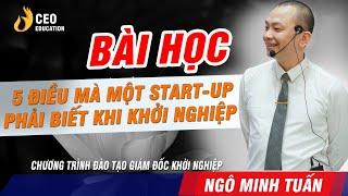 SET UP Doanh Nghiệp Sống Sót Trong Thời Kì Công Nghệ  4.0   Ngô Minh Tuấn | Học Viện CEO  Việt Nam
