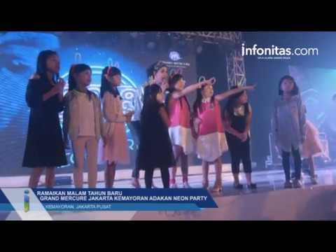 Ramaikan Malam Tahun Baru, Grand Mercure Jakarta Kemayoran adakan Neon Party