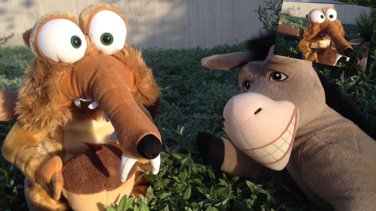ASNO, SCRAT y POCOYÓ CANTA A mi burro, a mi burro
