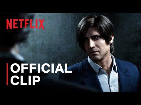 Netflix CG影集《惡靈古堡 無盡闇黑》公佈了「里昂」預告片
