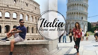preview picture of video 'PISA & ROME | ITALY TRAVEL VLOG'