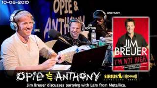Jim Breuer's Lars From Metallica Backpack Story On Opie And Anthony