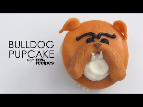 How to Make Adorable Bulldog Pupcakes